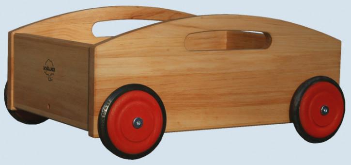 Schöllner - Kinderfahrzeug Bollerwagen - aus Erlenholz
