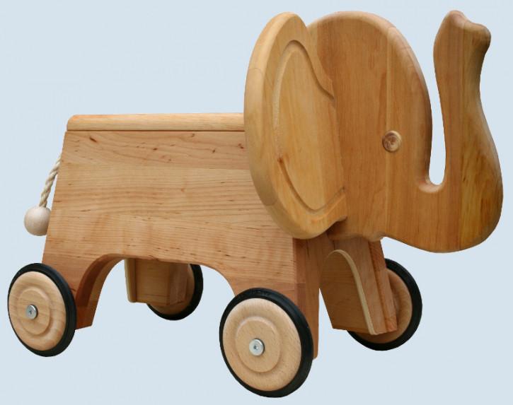 Schöllner - Kinderfahrzeug, Rutscher Elefant - aus Erlenholz