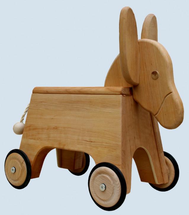 Schöllner - Kinderfahrzeug, Rutscher Esel - aus Erlenholz