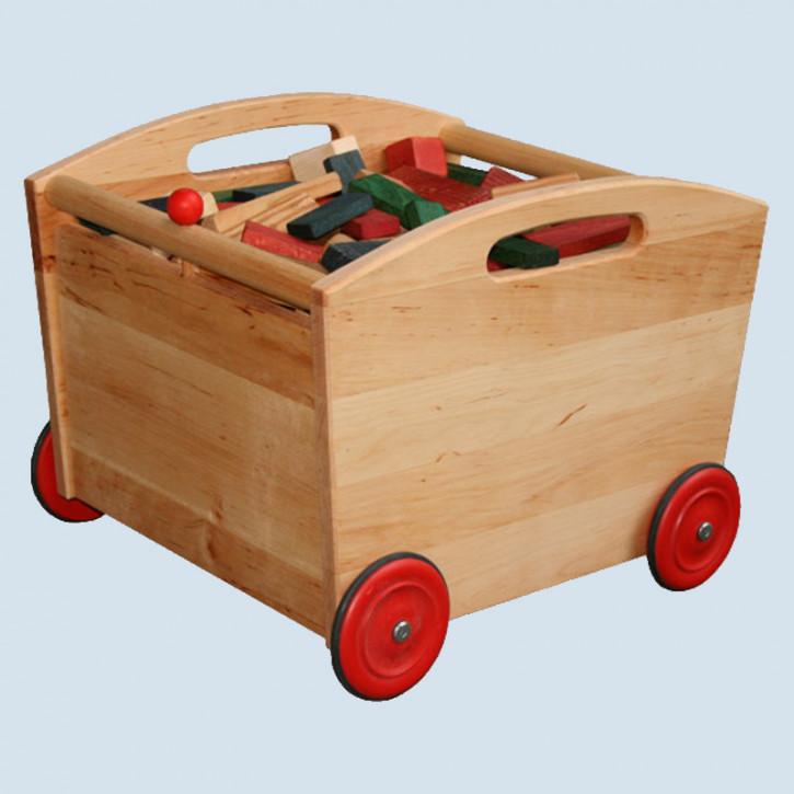 Schöllner - Kinderfahrzeug, Spielzeugwagen, Bauklotzwagen Lore