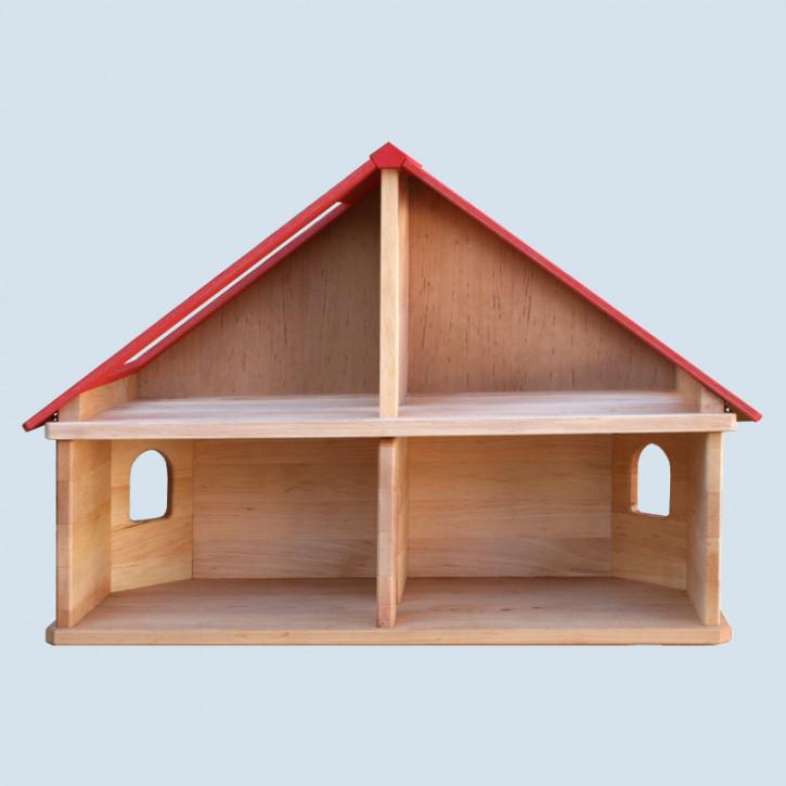 Schöllner - Puppenhaus, Puppenstube aus Holz - Etage mit Dach