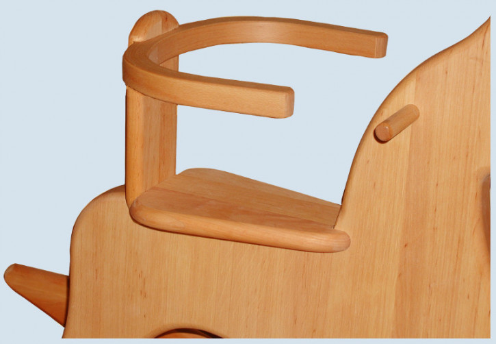 Schoellner - wooden seat supporter for small rocking horse, foal