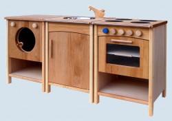 Schoellner - wooden kitchen for children - Single, completely