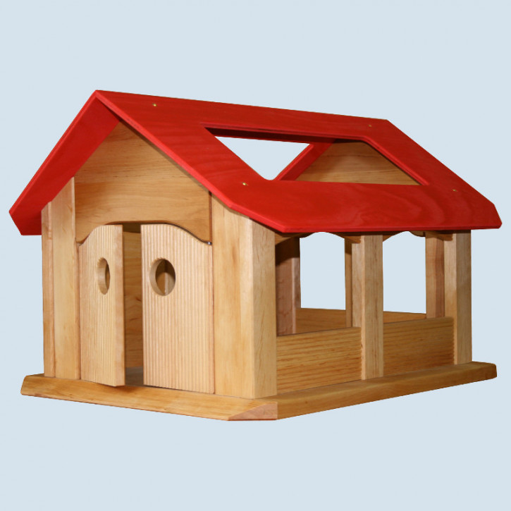 Schoellner - wooden stable, farm, nativity scene