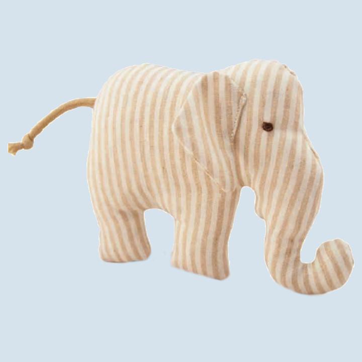 Senger - Greiftier, Greifling Elefant  - Bio Baumwolle