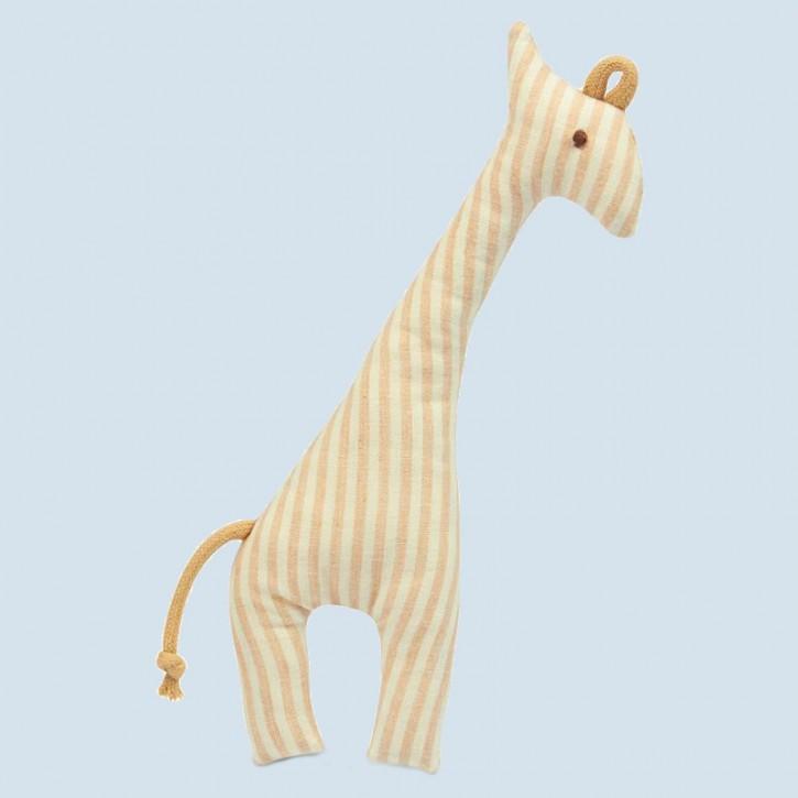 Senger - Greiftier, Greifling Giraffe - Bio Baumwolle
