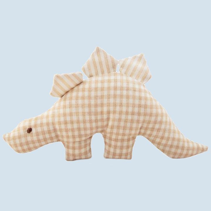 Senger - Greiftier, Greifling Dino  - Bio Baumwolle