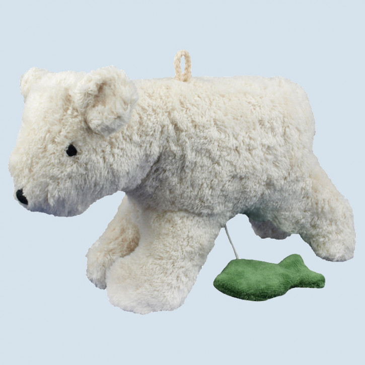 Senger - Spieluhr Bär, Teddy, Eisbär - Bio Baumwolle