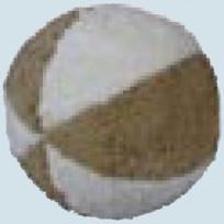 Senger Naturwelt - Ball beige, mit Rassel - Bio Baumwolle