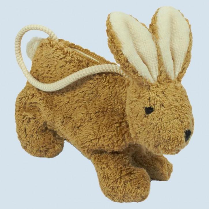 Senger - Handtasche für Kinder - Hase - beige, Bio Baumwolle
