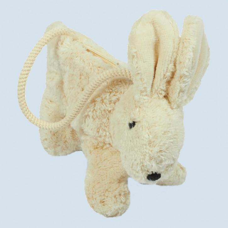 Senger - Handtasche für Kinder - Hase - weiß, Bio Baumwolle
