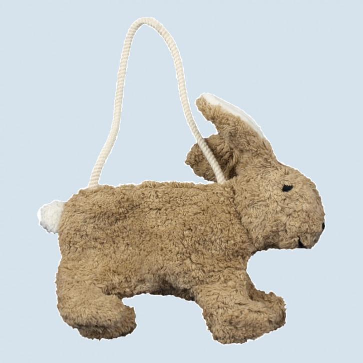 Senger Naturwelt - Tasche für Kinder, Hase - beige, Bio Baumwolle