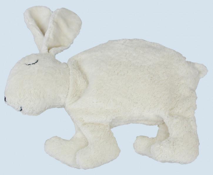 Senger Naturwelt - Kuscheltier Hase Nelly - weiß, Bio Baumwolle, groß