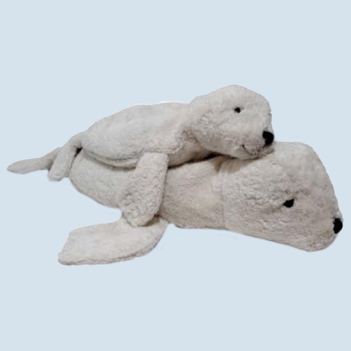 Senger Bio Kuscheltier - Robbe - weiß, klein