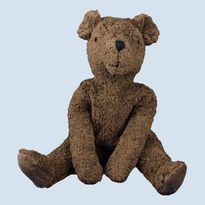 Senger floppy animal - Teddy Bear - brown, large, organic, eco