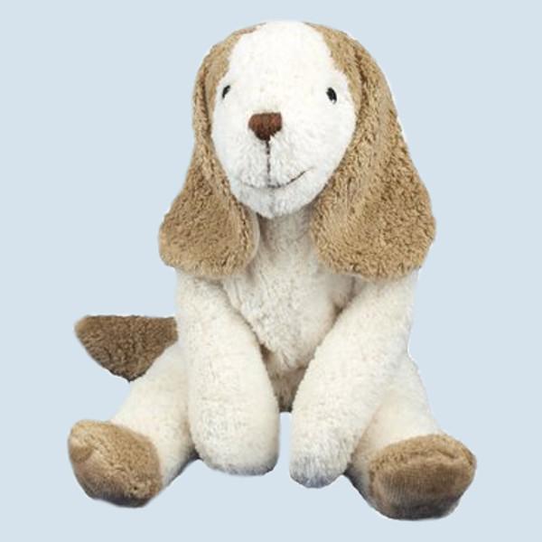 Senger Naturwelt - Kuscheltier Hund - klein, Bio Baumwolle