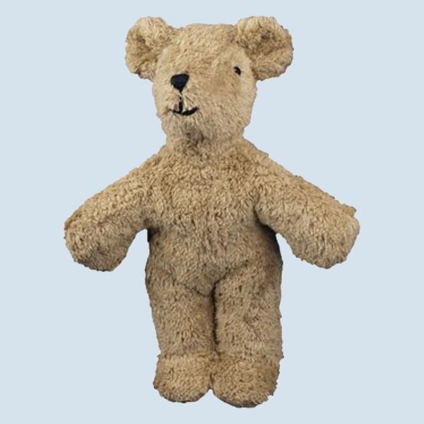 Senger Naturwelt - Kuscheltier Baby Bär, Teddy - beige, Bio Baumwolle