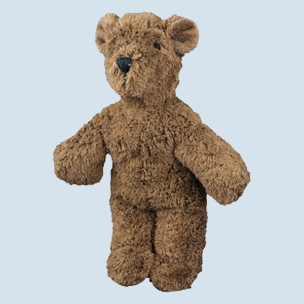 Senger Naturwelt - Kuscheltier Baby Bär, Teddy - braun, Bio Baumwolle