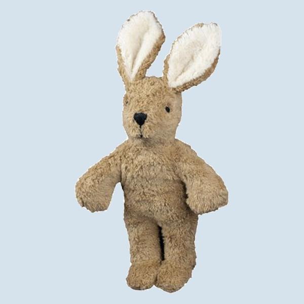 Senger Naturwelt - Kuscheltier Baby Hase - beige, Bio Baumwolle