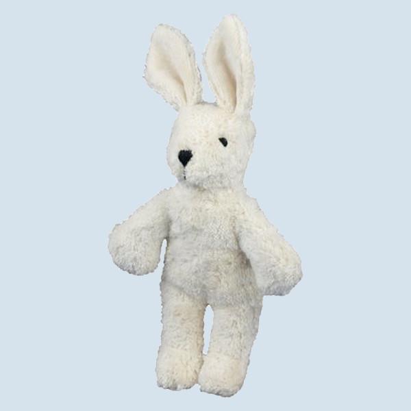 Senger Naturwelt - Kuscheltier Baby Hase - weiß, Bio Baumwolle