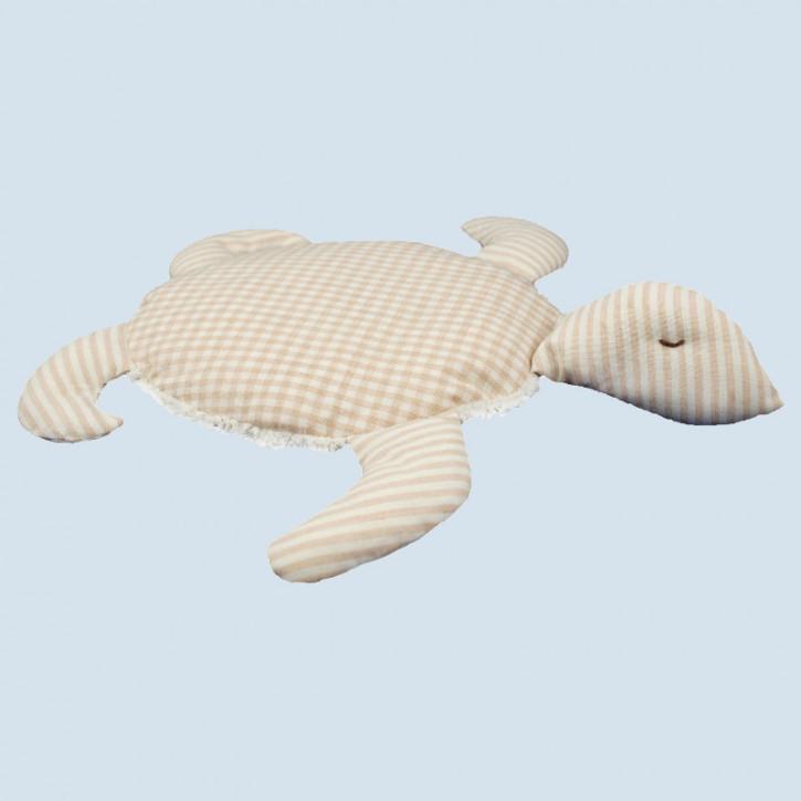 Senger Naturwelt - Kissen Schildkröte - Baumwolle Bio Qualität, öko