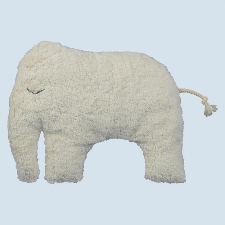 Senger Naturwelt - Kissen Elefant, Baumwolle Bio Qualität, öko
