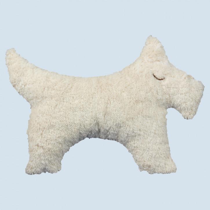 Senger Naturwelt - Kissen Hund, Baumwolle Bio Qualität, öko