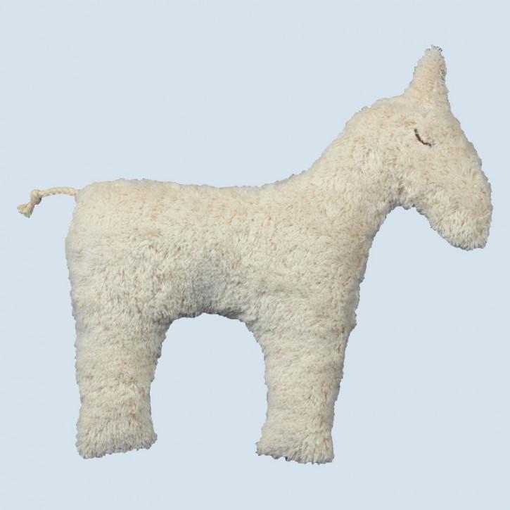 Senger Naturwelt - Kissen Pferd - Baumwolle Bio Qualität, öko