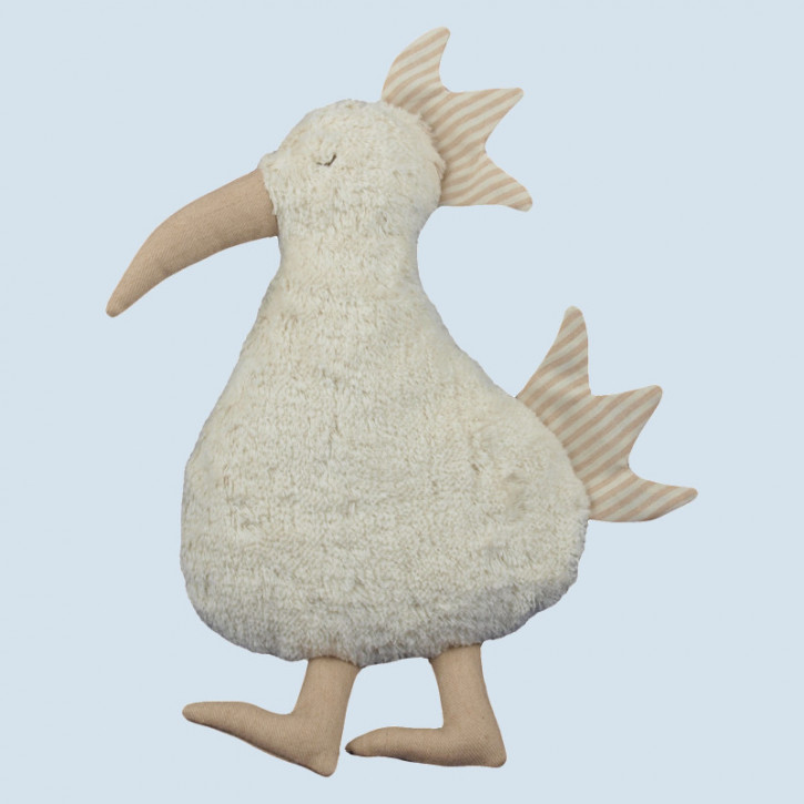 Senger Naturwelt - Kissen Vogel - Baumwolle Bio Qualität, öko