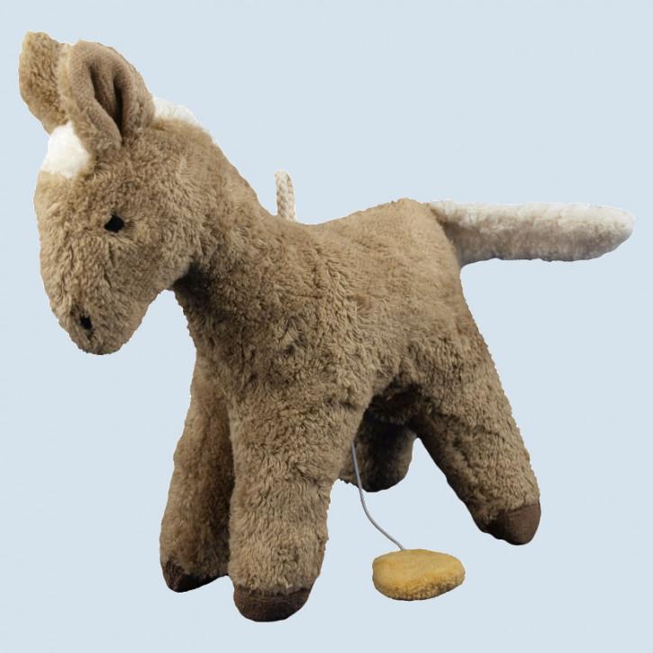Senger - Spieluhr Pferd - Bio Baumwolle