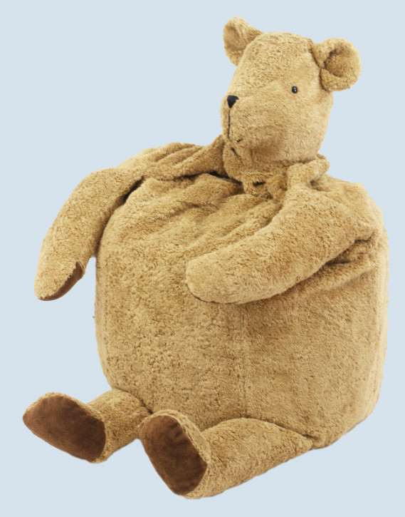 Senger Naturwelt - Sitzsack Bär, Teddy, Baumwolle Bio Qualität