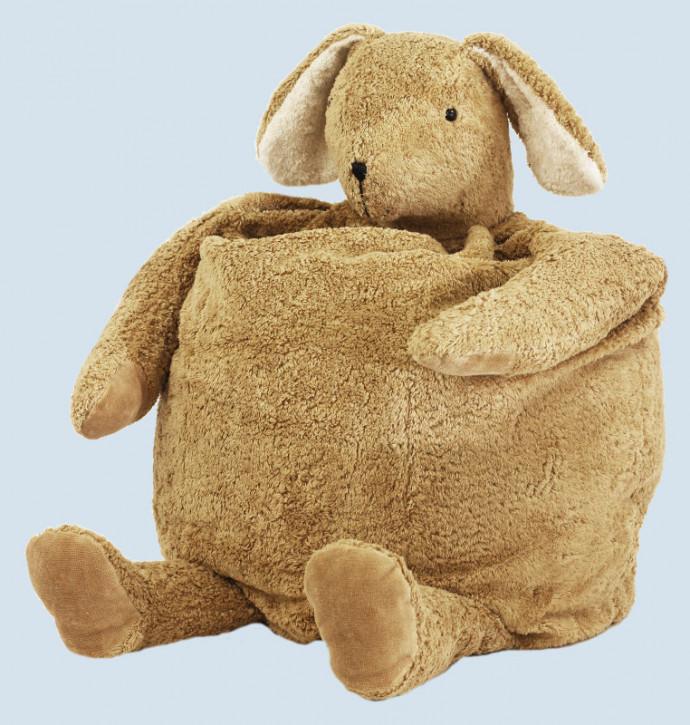 Senger Naturwelt - Sitzsack Hase, Baumwolle Bio Qualität