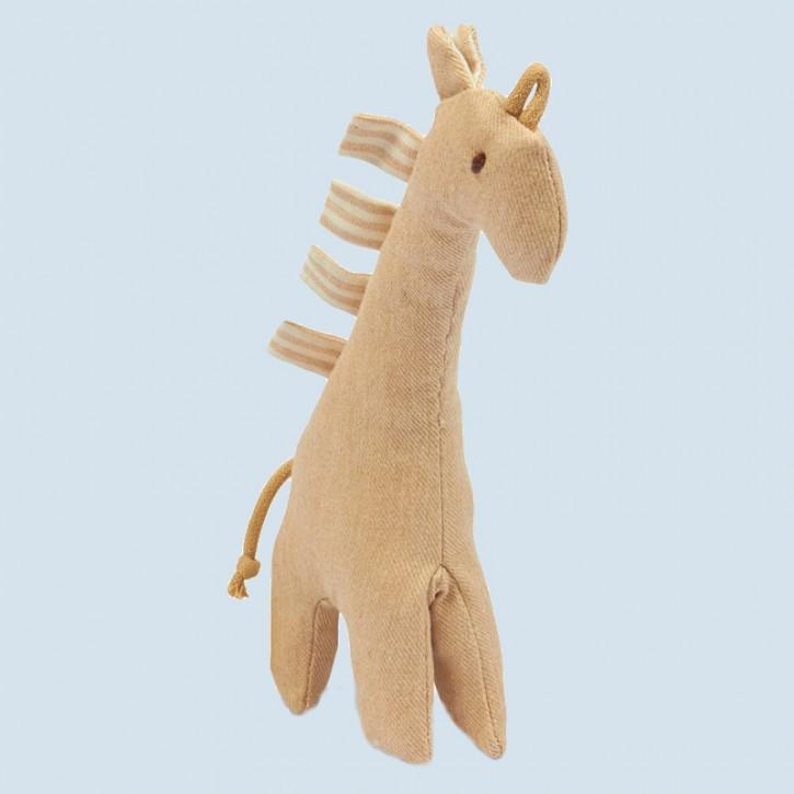 Senger Naturwelt - Spieltier Giraffe - Bio Baumwolle
