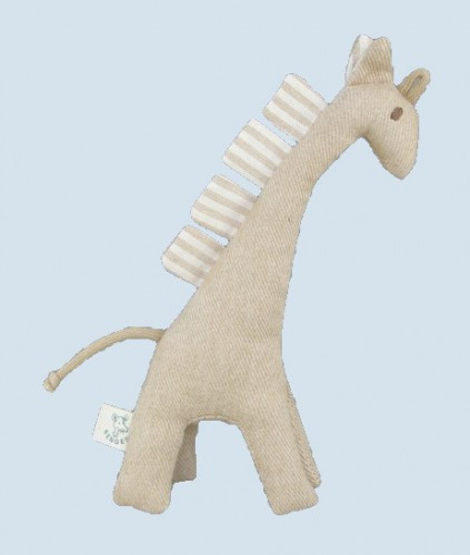 Senger animal doll - pure nature animal, giraffe - organic cotton