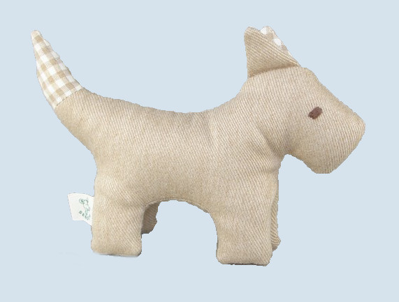 Senger animal doll - pure nature animal, dog - organic cotton
