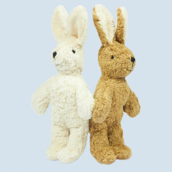 Senger - Kuscheltier Baby Hase - beige, Bio Baumwolle