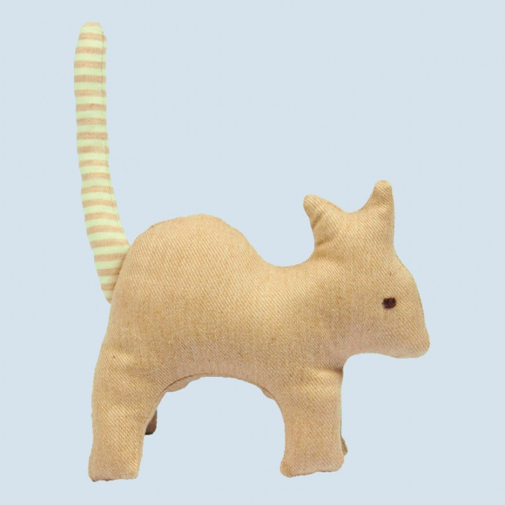 Senger animal doll - pure nature animal, cat - organic cotton