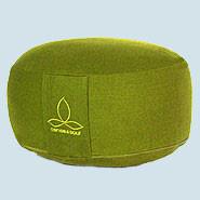 Sense & Soul, Yogakissen Rondo S, Baumwolle, Bio, green