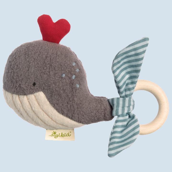 Sigikid - Bio - Baby Greifling Wal