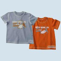 Lana - T-Shirt kurzarm - aqua, Baumwolle, Bio Qualität