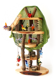 Decor -  tree dream house, with accessories