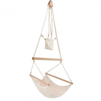 Traumschwinger M für Kinder, Hängestuhl - Set - Baumwolle, Bio