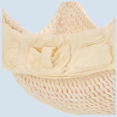 Traumschwinger - Seitentasche S - natur, Baumwolle ÖkoTex 100