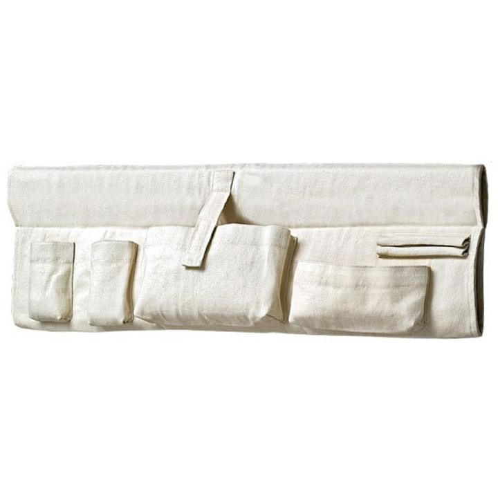 Traumschwinger - Seitentasche XL natur - Baumwolle, Bio