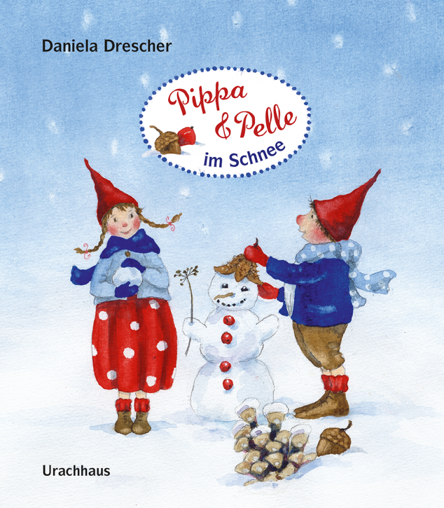 Kinderbuch - Pippa und Pelle im Schnee - Urachhaus Verlag