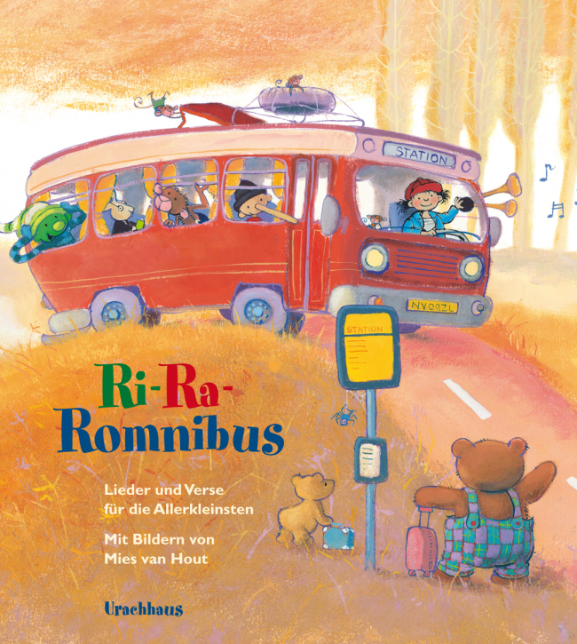 Urachhaus Verlag - Ri Ra Romnibus - Kinderbuch
