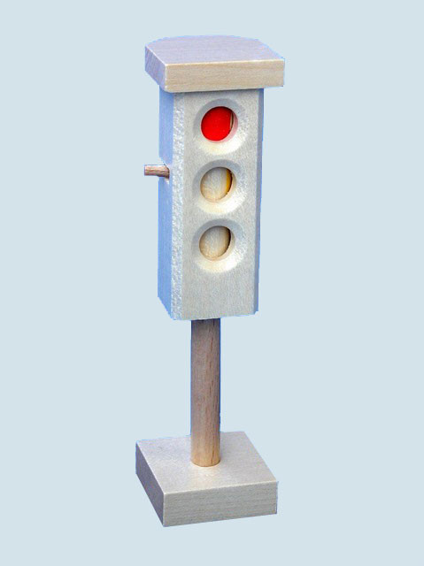 Beck toys - wooden traffic light - Made in Germany