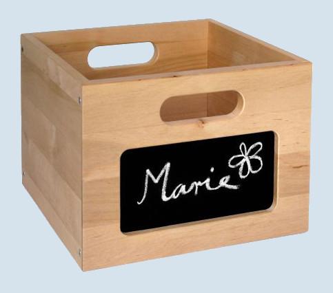 Wendelstein Werkstätten - Holzbox für Kaufladen - mit Tafelfolie