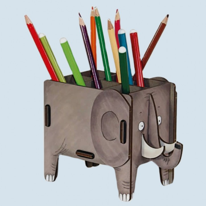 Werkhaus Stiftebox - Elefant