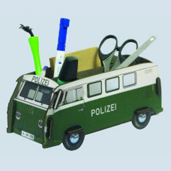 Werkhaus Stiftebox - VW Bus T1 Bulli Polizei